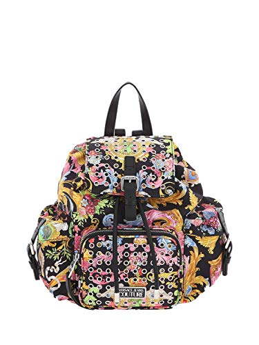 Versace Damen Rucksack schwarz E1VWABX371887M09