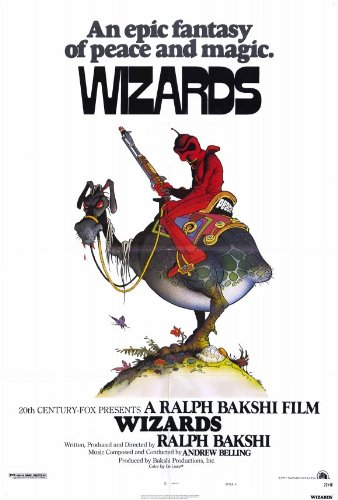 Wizards Movie Poster (27 x 40 Inches - 69cm x 102cm) (1977) -(Bob Holt)(Jesse Wells)(Richard Romanus)(David Proval)
