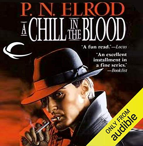 A Chill in the Blood audiobook cover art