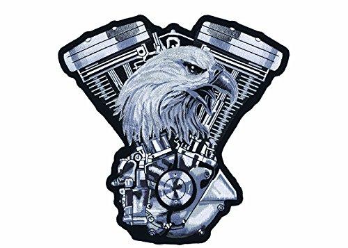 Lethal Threat Aufnäher / Aufbügler für Motorrad / Motorradjacke LT30134
