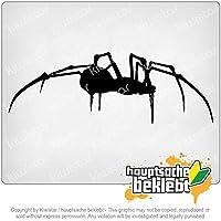 クモの蜘蛛のシルエット Spider spider silhouette 20cm x 7cm 15色 - ネオン+クロム! ステッカービニールオートバイ
