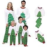 Pijamas Mujer Camisón Conjunto De Pijamas De Navidad para La Familia, Ropa A Juego para La Familia, Ropa De Fiesta De Navidad, Conjunto De Pijamas para Niños Y Adultos, Mameluco De Algodón, Ropa