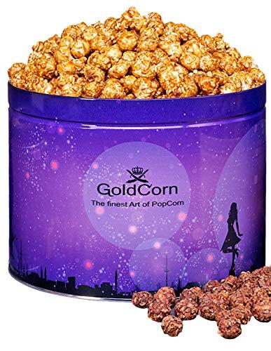 Gourmet Popcorn Karamell / Caramel 3,8 Liter Dose (ca. 550 g) Feinkost Snack | GoldCorn