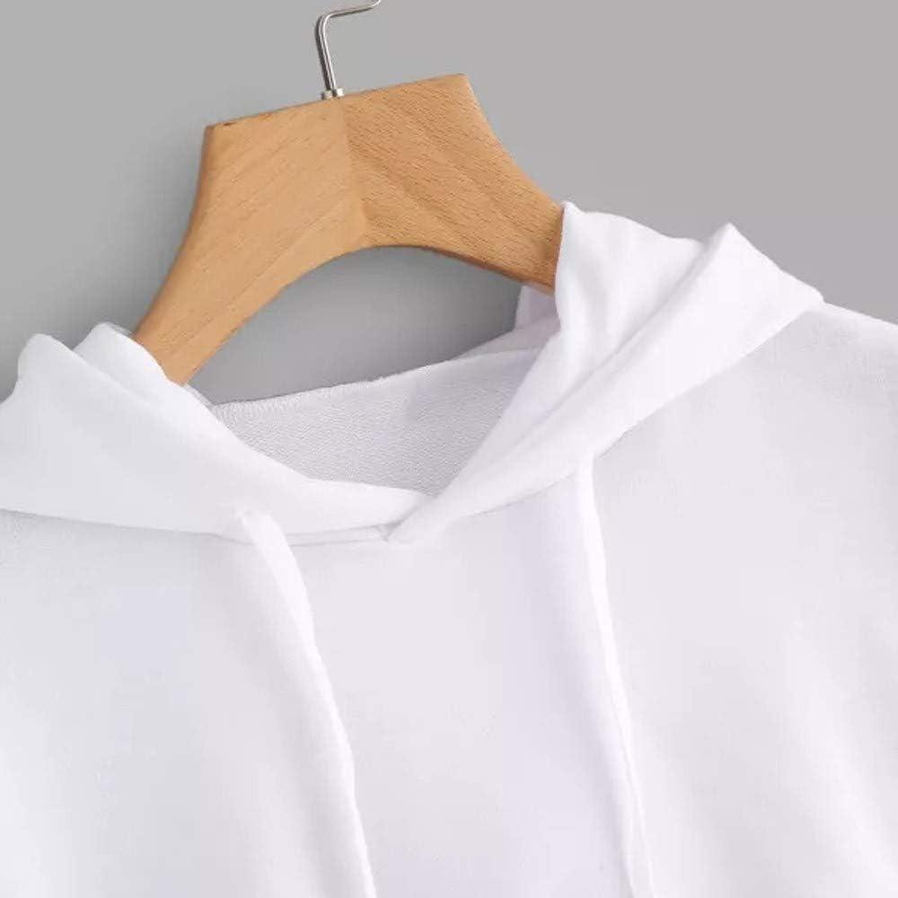 Girls' Hoodie, Misaky 2019 Casual Letter Print Long Sleeve Thin Hoodie Short Pullover Sweatshirt Blouse Tops