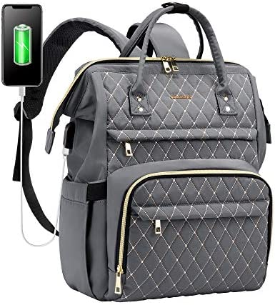 Laptop Backpack for Women Work Laptop Bag Stylish Teacher Backpack Business Computer Bags College product image