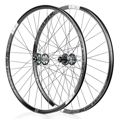 TYXTYX Wheel For Mountain Bike 26'/27.5' Bicycle Wheelset MTB Double Wall Rim QR Disc Brake 8-11S Cassette Hub 6 Ratchets Sealed Bearing New