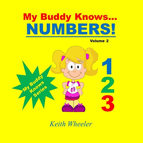 My Buddy Knows...Numbers audiobook cover art