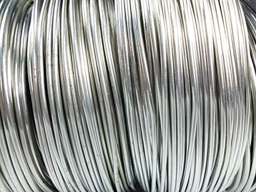 Aluminiumdraht Ø 2mm - Länge: 118m - 1kg