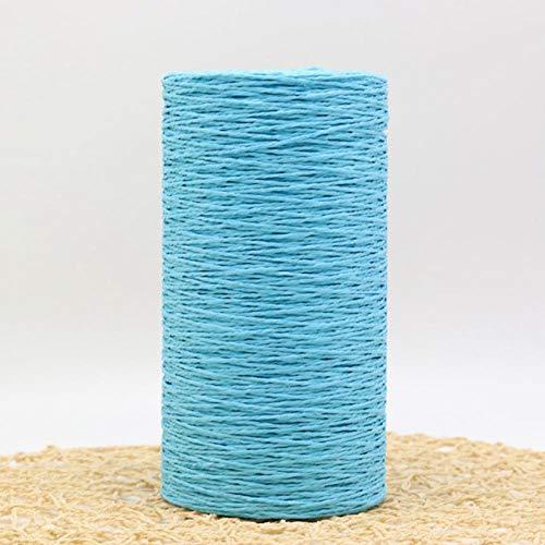 PINGS 500G / Lot Rafia Paja Tejido Natural Crochet Prendas de Punto...