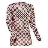 Kari Traa Women's Fryd Base Layer Top - Long Sleeve Thermal Shirt, Marin, Small