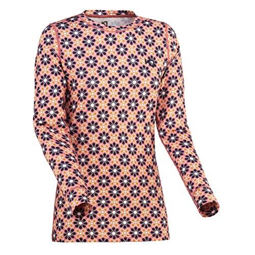 Kari Traa Women's Fryd Base Layer Top - Long Sleeve Thermal Shirt, Marin, Large