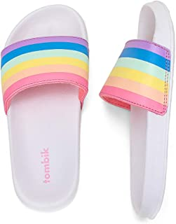 tombik Boys & Girls Beach/Pool Slides Sandals | Kids Water Shoes (Little Kid/Big Kid)