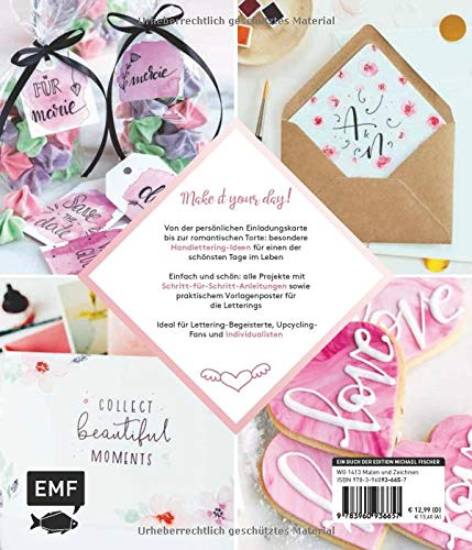 Handlettering Wedding: Die schönsten Projekte, Ideen und Inspirationen für deine Hochzeit