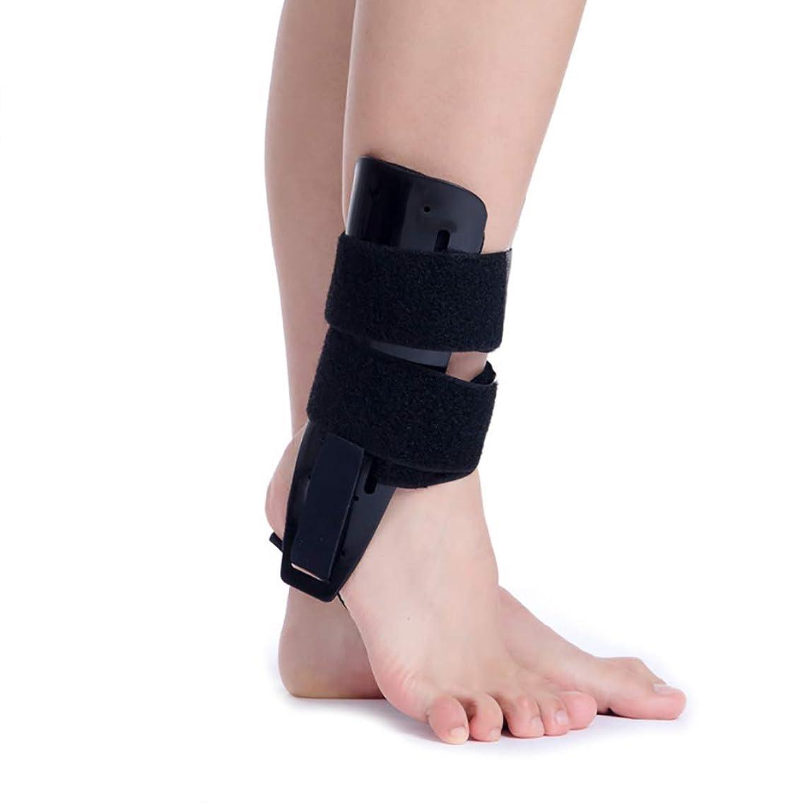 幾何学動かす経歴足底筋膜炎足副木、ドロップフット、かかとの痛みを軽減するための足の袖と背部の副木のアーチ矯正装具ブレース