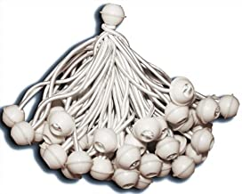 KMH®, 50 tentrubbers/spanrubbers met kogel - ideaal voor partytenten (# 303025)