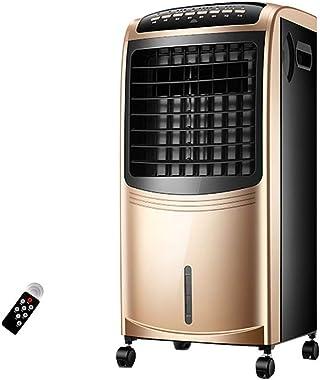 Portable Powerful Digital Evaporative Air Fan Cooler AC W Remote Control & LED Display, 6.5L Tank - 80W - Anti Dust Filter -