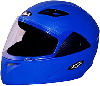 Virgo Zdi Plus Matt Finish Helmet (Medium, Blue)