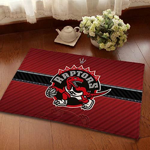 Basketball Court Carpet-Toronto RAPTOREN gedruckt Teppich-rutschfeste und verschleißfestes stilvolles und einfaches Büro-Restaurant Fußmat 60 * 90cm
