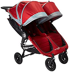 Side by side double stroller compatible with Graco car seat