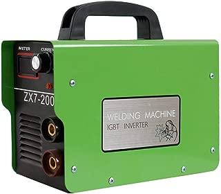 Funnyrunstore ZX7-200 Mini pantalla digital DC Inverter ARC Welder 220V IGBT Portable Welding Machine 20-120A Para el hogar DIY Reparación Verde