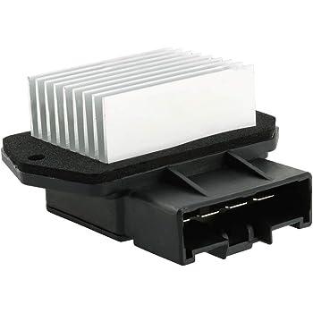 Front Auto Temp Control Blower Motor Resistor Fits ES300 GX470 4Runner RX330 Solara Camry tC RX400h GX470 DTS Sebring Journey Patriot Compass Avenger Wrangler Caliber ProMaster Replace 8716513010
