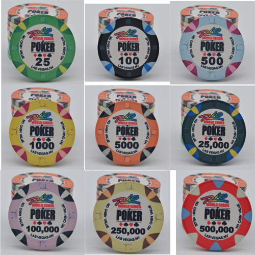 Set Poker 500 fiches The Nuts 14 gr.