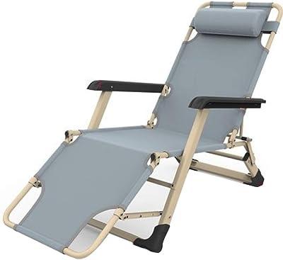 GWW Oficina Tumbonas, Estabilidad Portátil Plegable Chaise ...