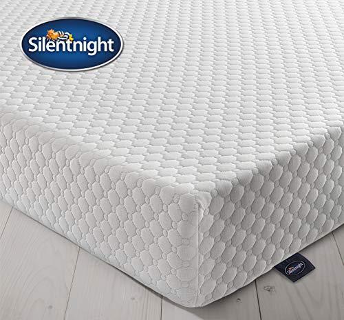 Silentnight - Colchón (espuma con efecto memoria, 7 zonas) 150 x 200