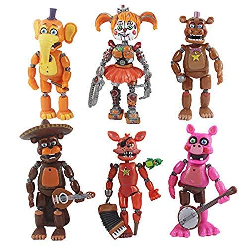 GJBPLS TEDDY Bear's Toy Stife Toy Bear Pizza Shop Simulator, cinco noches en Joyas de Freddy's Toys FnaF