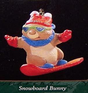 1997 Snowboard Bunny Miniature Hallmark QXM4315