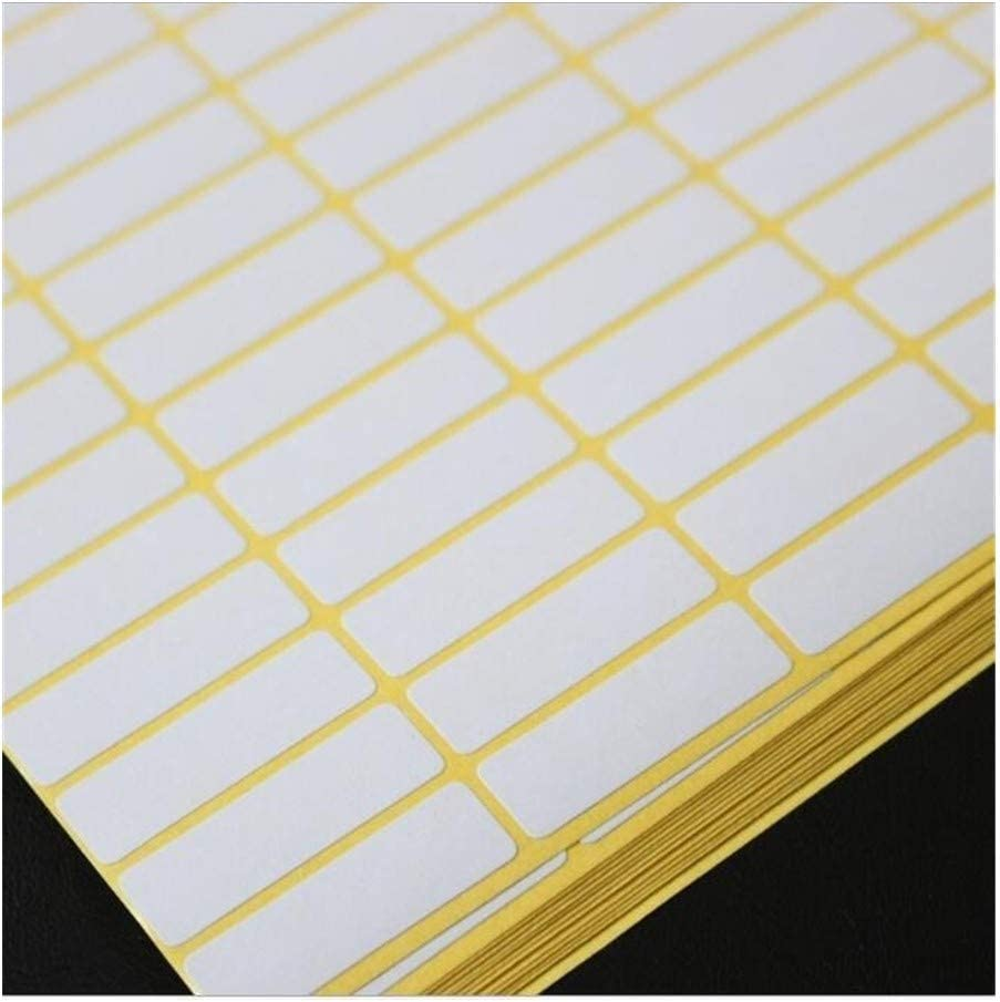 7 sizes Max 90% OFF small large Blank white A label Stickers Self Rapid rise Code paper