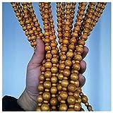 N / A Tenda Perline per Porta Legno Divisorio per Finestra Tenda Pensile in Legno Massello per Veranda Arredamento Rustico, 25/25/29/35 Fili (Color : 25 strands-80cmx81cm)