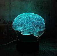 目の錯覚3D 7色のバリエーション大人、子供 脳クリスマスプレゼント