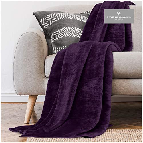 GC GAVENO CAVAILIA Gaveno Cavailia Faux Fur Throw Sofa Bed Mink Blanket,...