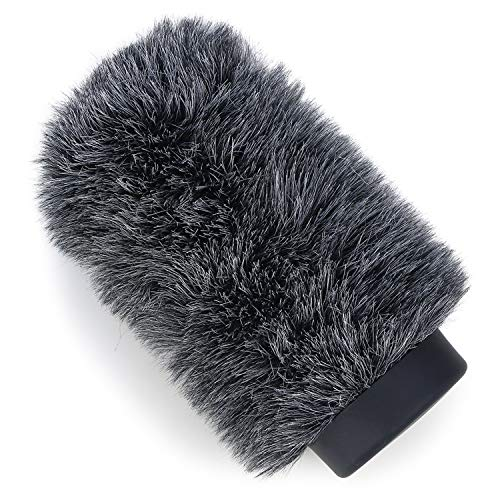 """YOUSHARES Deadcat Windscreen for Rode NTG1, NTG2, Audio-Technica AT897 Shotgun Microphones, Wind Muff Up to 5.5"""" Long"""