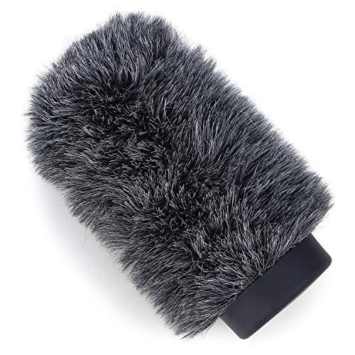 YOUSHARES Furry Windschutz für Rode NTG1, NTG2, Audio-Technica AT897 Richtmikrofone, Windschutz Bis zu 5,5