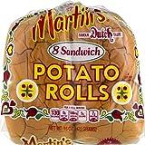 Martin's Potato Sandwich Rolls- 8pk 15 oz. Bag (4 Bags)