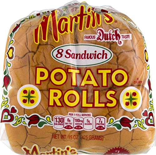 Martin's Potato Sandwich Rolls- 8pk 15 oz. Bag (4 Bags)