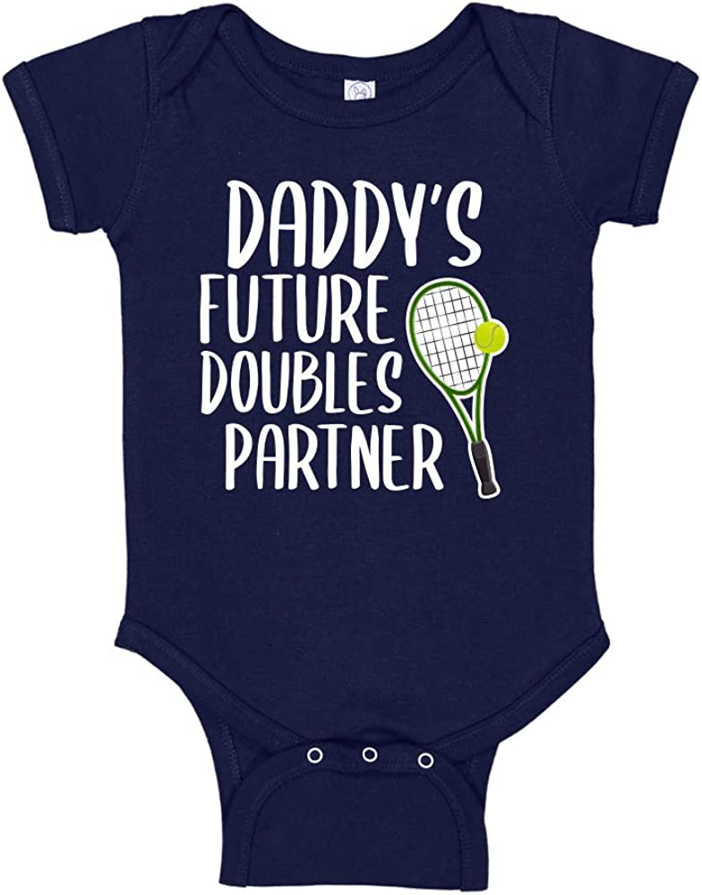 Future Doubles Partner Tennis Baby New Attention brand York Mall Bodysuit Cust Toddler T-Shirt