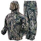 FROGG TOGGS Men's Classic All-Sport Waterproof Breathable Rain Suit, Mossy Oak Break-up Country, X-Large