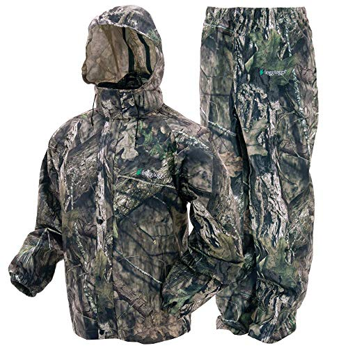 Frogg Toggs Men's All Sport Rain Suit, Mossy Oak Break-up Country, Small