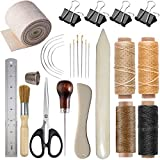Bookbinding Kits, VENCINK Bookbinding Supplies Hand Book Binding Starter Tools Kit with Genuine Bone Folder...