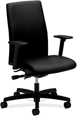 HON Mid-Back Executive Chairs, 27 by 29 by 44-1/4-Inch, Black