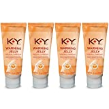 K-Y Warming Jelly Personal Lubricant, 5.0 oz(Pack of 4)
