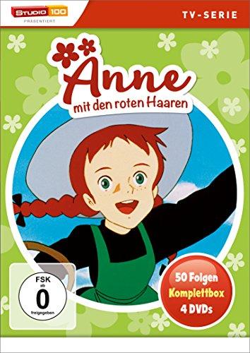 Anne mit den roten Haaren - Komplettbox (4 DVDs)