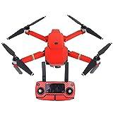 Fibra de carbono Drone cuerpo brazos controlador envoltura piel calcomanía etiqueta protectora de la cubierta set para DJI Mavic Pro