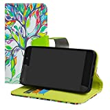 LFDZ Wiko Lenny 4 case-Stand View Flip PU Leather Wallet