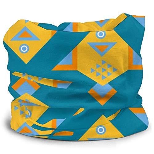 Dydan Tne Color geométrico con Peces Sombreros Bufanda Diad