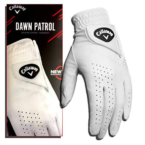 Callaway Golf Women's Dawn Patrol 100% Premium Leather Golf Glove, Worn on Left Hand, Medium