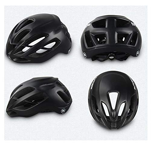 Great Deal! LXFTK Cycling Helmet Integrated Male and Female Bicycle Helmet Road Mountain Bike Equipm...